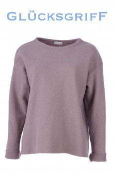 Pullover, reine Schurwolle, taupe